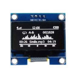 1.3 Inch 128x64 OLED Display White/Blue Color With/Without PCB