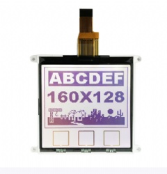 160x128 Graphic LCD With Touch Icon For Juice Machine