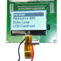 2.15'' 128x64 Gray Graphic LCD Display Module