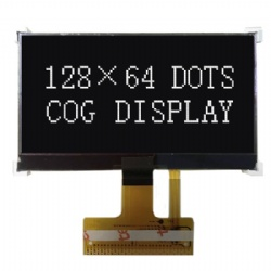 2.6''Black High Contrast 128x64 Graphic LCD
