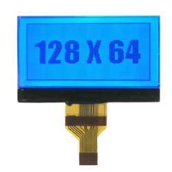 RGB Backlight 128x64 Graphic LCD Screen