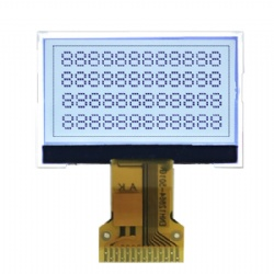 1.15'' Custom Size Graphic LCD With 128x64 Pixels