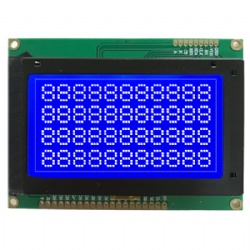 Custom Made 128x64 COB LCD Module Chip On Board